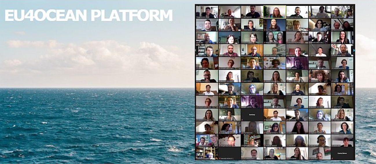 The 1st EU4Ocean platform meeting: read about the event on the Maritime Forum
