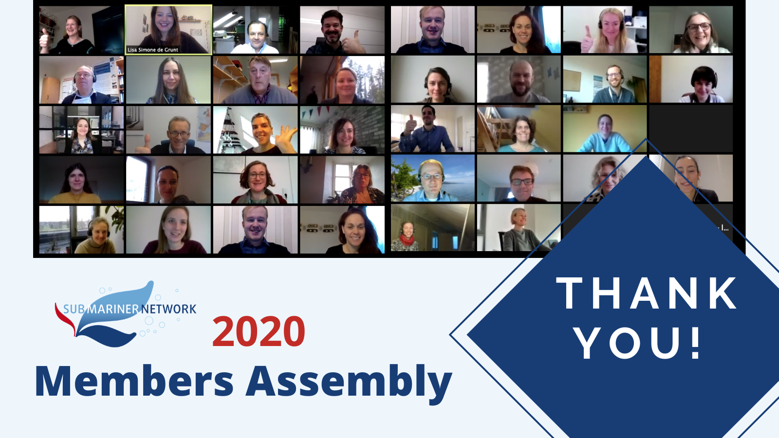 Members Assembly 2020: Thank You!