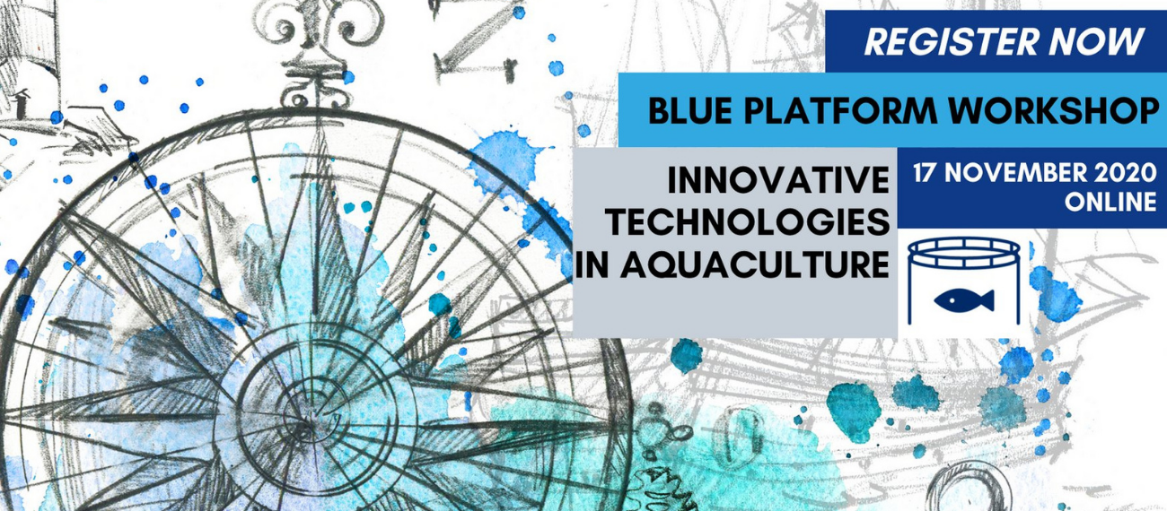 Presentations online! Blue Platform Workshop on Innovative Technologies in Aquaculture