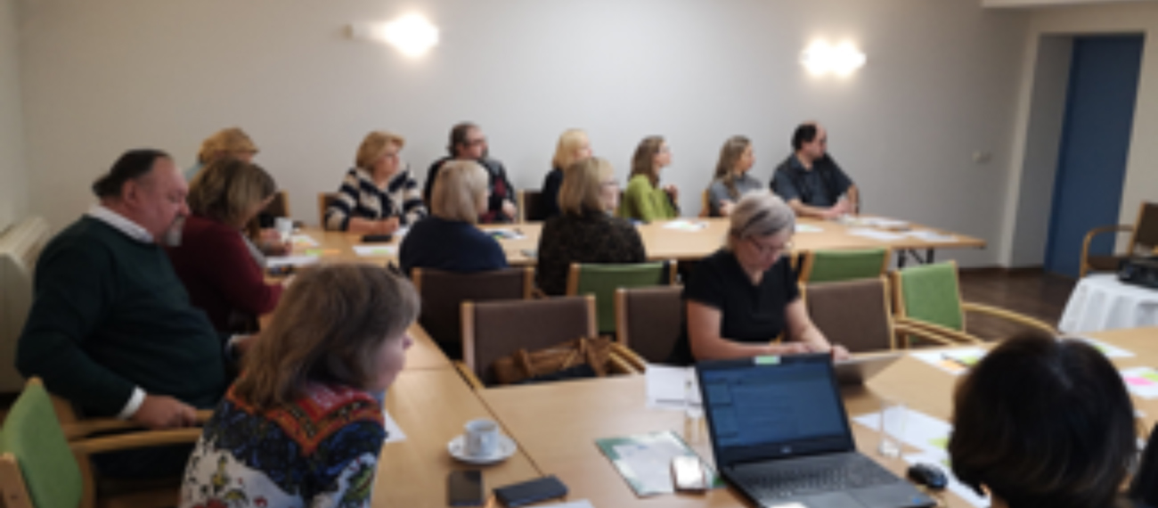 The Latvian project partners conducted the 2nd stakeholder meeting within the GRASS project
