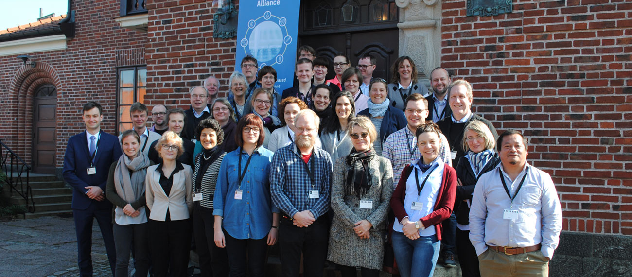 Participants of the Baltic Blue Biotechnology meeting in Gothenburg in April 2017