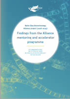 Findings from the Alliance mentoring and accelerator programme