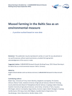 Mussel farming in the Baltic Sea as an environmental measure